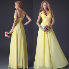 2014 NEW Chic Graduation Dresses Bridesmaid Party WEDDING Gown Evening Dress WW