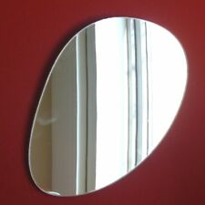 Pebble Mirrors - Long Pebble (3mm Acrylic Mirror, Several Sizes Available)