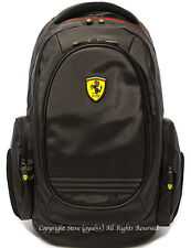 Ferrari Laptop Backpack (Luxury Collection : A) TF015A Black, Red
