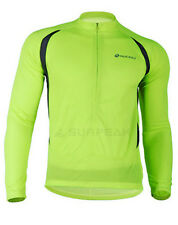 New Men's Cycling Bicycle Bike Outdoor Long Sleeves Jersey Size M-2XL 1231-m02