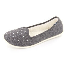 Roxy Women's Hailey Wool Shoes Charcoal