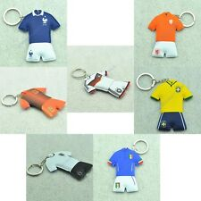 Hot! New Soccer Football Souvenir World Famous National Team Logo Keychain Ring