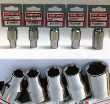Craftsman 6 or 12 Point 1/2 or 3/8-In. Drive Metric Steel Chrome Sockets