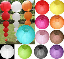 "New Multicolor Chinese paper Lanterns Wedding Party Decoration 4"" 8"" 12"" 14"""