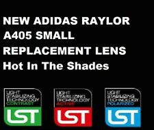 NEW ADIDAS SUNGLASSES RAYLOR A405 SMALL SPARE REPLACEMENT PART PARTS LENS