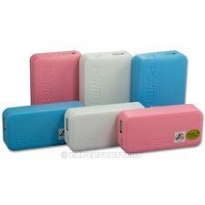 5600 7800 Portable Power Bank External Battery Charger for Samsung Galaxy S5 S4