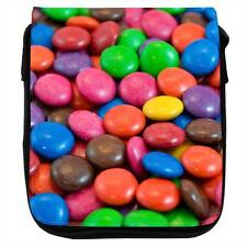 Candy Delight Chocolate Sweets Denim Shoulder Bag
