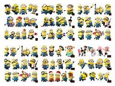 W.W 4pcs Minions Despicable Me Graphics Car Truck Motor Window Decal Sticker C11