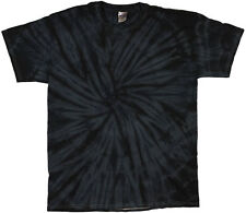 Tie Dye T Shirts New Colors Black Spider Variation Size Youth XS to Adult 3XL