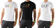 Emporio Armani EA7 T-Shirt Men White & Black EA Tops ref: 3P206