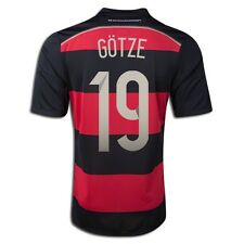 ADIDAS MARIO GOTZE GERMANY AWAY JERSEY FIFA WORLD CUP BRAZIL 2014