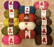 Sock-Ease Yarn with Aloe Vera YOUR CHOICE - One Ball Makes One Pair - Lion Brand
