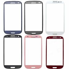 New Blue White Red Pink Grey Black Outer Glass Lens for Samsung Galaxy S3 SII