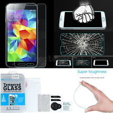 Premium Tempered Glass Film Screen Protector Kit Set For Samsung Galaxy S4 S5