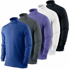 2014 Nike Dri-Fit Jersey RollNeck Mens Longsleeve Golf Shirt