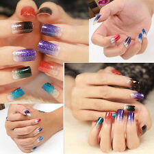 New Hot Glitter Foils Nail Stickers Decal Manicure Tips DIY Decoration Nail Art
