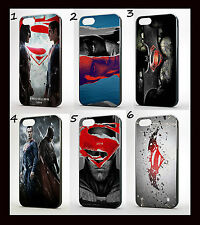 SUPERMAN VS BATMAN  PHONE CASE IPHONE 4 4S  5  GALAXY S3  S4 S5 MARVEL DC COMIC