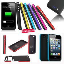 2500mAh External Battery Backup Case Charger Pack Power Bank for iPhone 5 / 5s