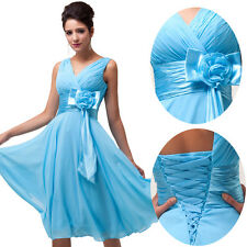 ON SALE Women Summer Classic Formal Party Prom Dresses Short Gown Ball Dress HOT