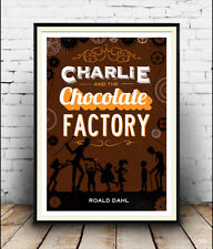 Charlie & The Chocolate Factory  :  Vintage  advertising  Poster reproduction