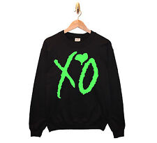 XO THE WEEKND SWEATSHIRT MENS WOMENS SWEAT BAND TOUR GREEN OFFICIAL ISSUE DRAKE