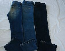 Womens AUTHENTIC DIESEL jeans SIZE 26 27 STRETCH Flare BOOTCUT MED wash VGUC
