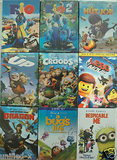 Walt Disney - Animated Dvds - The Nut Job, The Lego Movie, Lion King, Astro Boy