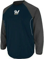 AUTHENTIC COLLECTION MILWAUKEE BREWERS THERMABASE TECH FLEECE & RYAN BRAUN SHIRT