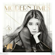 IU - Modern Times (Vol. 3) [Normal Edition] CD The Red Shoes +Poster+Gift Photo