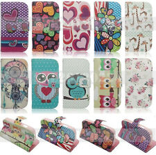 For Samsung Galaxy Star Pro S7260 S7262 PU Leather Case Flip Stand Wallet Cover
