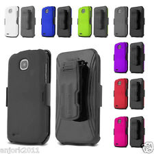 Pantech Marauder R910L Hard Snap-On Case+Holster+Screen Protector