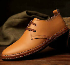 2014 NEW European Style Genuine Leather Shoes Men's Oxfords Casual Dress Shoes