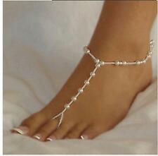 Energetic Jewellery Pearl Sandal Anklets Bracelet Anklets Chain Ring Worldwide
