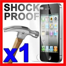 Scratch Resistant Shockproof Screen Protector Cover Film for Apple iPhone 4S 4 G