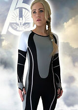 Hunger Games Suit Costume Cosplay Catching Fire Mockingjay Katniss T-shirt DVD