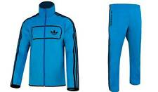 Adidas Originals Street Diver Mens Track Suit Jacket Pants Top Blue Firebird