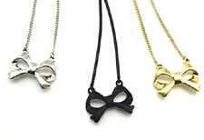 Lovely bow chain necklace 50s retro multiple choices
