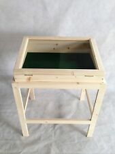 Pine stand for display case/cabinet or table top cabinet Hand Made