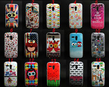 Owl Cake Variety Tpu Gel Soft Skin Case Cover For Motorola Moto G
