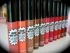 The Balm Read My Lips Lip Gloss Infused with Ginseng