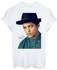 Bruno Mars Smoking Sexy Pop Reggae Soul R&B Pop rock Men Women Unisex T-shirt