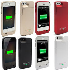 Lenmar Meridian iPhone 5/5s Extended Battery Booster Case, Black,Grey, Red,White