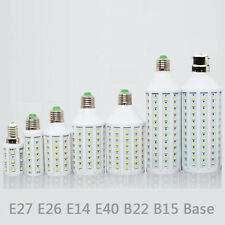 E14 E27 E26 E40 B2 B15 25W 15W 12W 8W 6W 5W LED 5050 Light Bulb Lamps 110V/ 220V