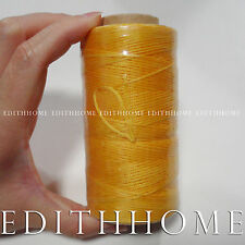 1mm Waxed Braided Cord Sewing Wax Thread for DIY Leather Hand Stitching