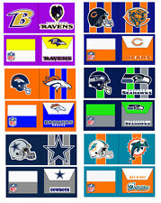 Custom Duct Duck Tape Wallet NFL Football theme Customized Any Team Anything