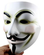 High Quality Mask V for Vendetta Guy Fawkes Mask of V Resin Collector's Edition