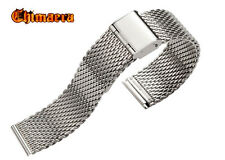 DIVE STAINLESS STEEL MESH BRACELET SHARK METAL STRAP FOR SEIKO WATCHES