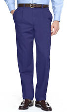 MANS MENS CHINOS BOYS TRADITIONAL NAVY BLUE TROUSERS PANTS SIZE 30 32 34 BARGAIN