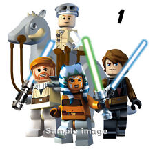 "LEGO STAR WARS wall stickers (choice of 24 images in 2 sizes) ""PLUS DISCOUNTS"""