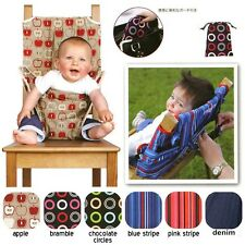 New Baby Portable Chair bag Infant Safety Seat Belt Baby Dinning Feeding Chair